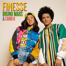 Bruno Mars Cardi B Finesse https://www.instagram.com/p/BdgBQX6hZfI/?taken-by=brunomars Credit: Bruno Mars/Instagram