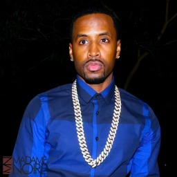 Record producer Safaree Samuels and girlfriend Das Hershes arriving at BOA Steakhouse in West Hollywood Featuring: Das Hershes, Safaree Samuels Where: Los Angeles, California, United States When: 08 Jan 2015 Credit: Winston Burris/WENN.com