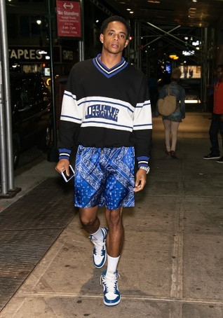 NEW YORK, NY - SEPTEMBER 09: Cordell Broadus is seen arriving at the Philipp Plein fashion show during New York Fashion Week: The Shows at Hammerstein Ballroom on September 9, 2017 in New York City. (Photo by Gilbert Carrasquillo/GC Images)