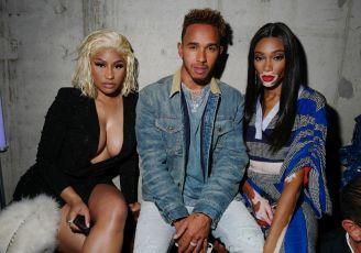 Nicki Minaj, Lewis Hamilton, Winnie Harlow